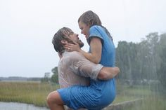 Ryan Gosling and Rachel McAdams as Noah and Allie in The Notebook