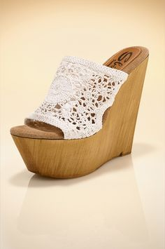 Crochet wedge