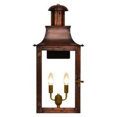 The Coppersmith Somerset SO Outdoor Flush Mount Lantern - SO-20E-AL