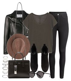 """""""Sin título #12012"""" by vany-alvarado ❤ liked on Polyvore featuring H&M, Acne Studios, MANGO, Yves Saint Laurent, Christian Dior and Forever 21"""