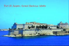 Fort St. Angelo is a large fortification in Birgu/Vittoriosa, one of the famous Three Cities.