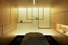(via Kanebo Sensai Select Spa by Gwenael Nicolas - Dezeen)