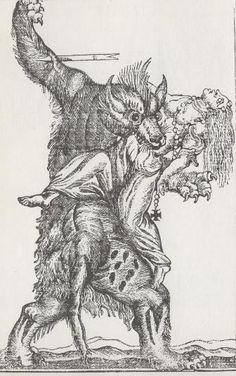 Loup garou - Lycanthrope — Wikipédia