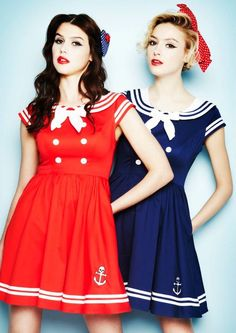 Christmas wish list! Sailor Dresses from Hell Bunny