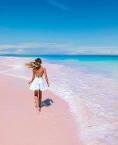 Surfer S Style Pink Sand Beach Ocean Places To