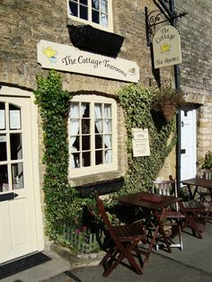 Cottage Tea Room, The Cotswolds, England