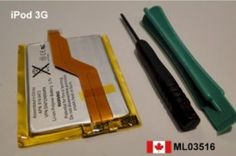 New Apple iPod Touch 3rd Gen 3G Battery Replace    Price = $14.99