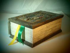 Adventure Time Enchiridion Deck Card Box Custom MTG by Leifkicker - omg i need this more than air