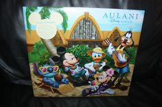 NEW Rare Disney Aulani Scrapbook Mickey Stitch Beach Hawaii Exclusive Acid Free