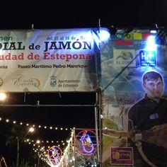 #MundialdeJamon #Estepona #ciudad de #POPI #España #CostadelSol #Andalucia #jamón #beach #playa #vacaciones #sabores #spanishfood #gourmet #delicatessen #spanishham