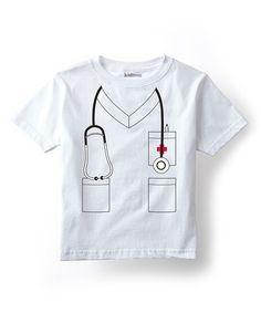 Another great find on #zulily! White Nurse Tee - Toddler & Kids #zulilyfinds