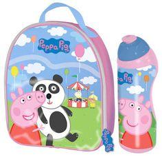 Peppa Pig - FAIRGROUND LUNCH BAG & BOTTLE