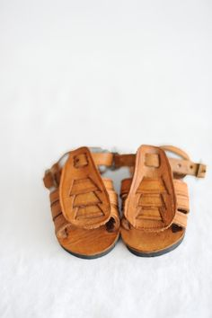 cute enough to make me want to have another baby… Leather Sandals / Caballo
