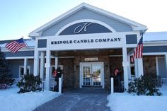 The Kringle Candle retail store in Bernardston, MA on the last day of January 2015!