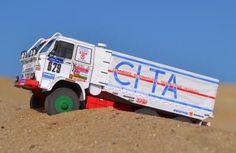 Dakar 1988 Star 266R Truck Free Vehicle Paper Model Download - http://www.papercraftsquare.com/dakar-1988-star-266r-truck-free-vehicle-paper-model-download.html#153, #Dakar, #Star266, #Truck, #VehiclePaperModel