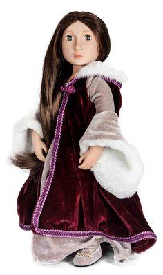 Matilda's Velvet Cloak | A Girl for All Time®