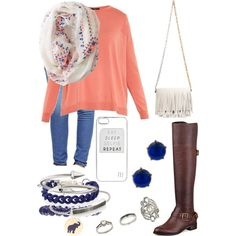 A fashion look from March 2015 featuring Weekend Max Mara sweaters, True Religion jeans and GUESS boots. Browse and shop related looks.