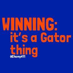 It's a Gator Thing! Fla Gators, Florida Gators Football, Gator Football, College Football, Football Players, Gator Game, School Cheerleading, Tim Tebow, Florida Girl