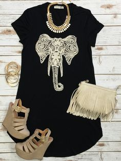 Crochet Elephant Tunic