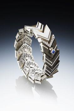 Samurai by Makiko Maeda of Fashion Institute of Technology. Category: Jewelry, Fine. #jewelry