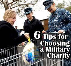 How to choose a military charity to give to and avoid charity scams. Very important during the holidays.