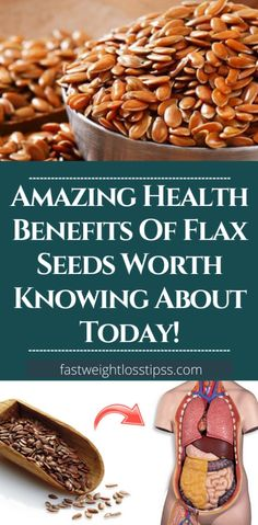7 powerful health benefits of flax seeds that you need to know about, you will also learn about the nutritional values of flax seeds, the side effects of flax seeds and finally, how much flaxseed is safe to consume. - Fast Weight Loss Tips Home Remedies For Flu, Natural Flu Remedies, Cold Remedies, Herbal Remedies, Natural Cures, Flax Seeds Health Benefits, Flax Seed Benefits, Benefits Of Organic Food, Flax Seed Recipes