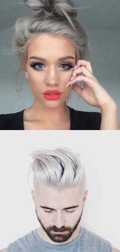 What Happens When A Guy Tries The Granny Hair Trend
