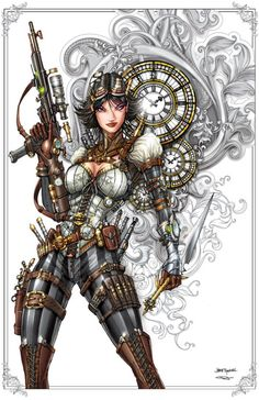 Lady Mechanika Commissionby *jamietyndall