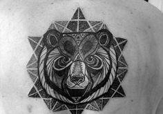 bear-unique-tattoo-ideas-on-upper-back ~ http://heledis.com/several-unique-tattoo-ideas-for-girls/