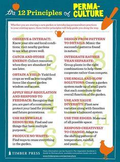 Les 12 principes de la permaculture