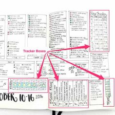 Weekly Spreads: An Actionable Guide to Boost your Journal Monthly Bullet Journal Layout, Daily Bullet Journal, Bullet Journal Tracker, Bullet Journal Hacks, Bullet Journal Printables, Bullet Journal How To Start A, Journal Template, Bullet Journal Spread, Bullet Journal Inspiration