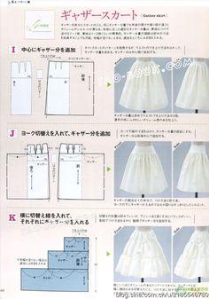 [转载]【裁剪资料】style book杂志讲解原型变化-裙子