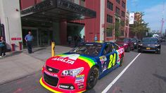 """""It's such an iconic paint scheme."" -- on bringing back his car Jeff Gordon Car, Jr Motorsports, Nascar Sprint Cup, Paint Schemes, Police Cars, Fast Cars, Diecast, Chevy, Amy"