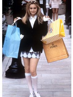 Introducing the 25 most memorable fashion moments of the '90s: Clueless (1995)