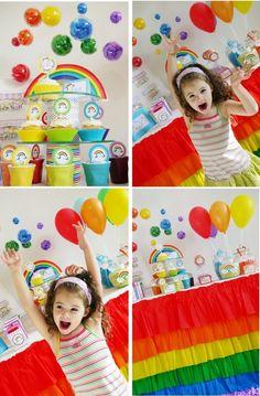 Over the Rainbow Birthday Party