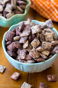 One of my favorite puppy chow / chex mix / muddy buddy recipes ever. Cookies & Cream! All the details are at http://porkrecipe.org/posts/One-of-my-favorite-puppy-chow-chex-28995