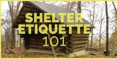 Shelter Etiquette on the Appalachian Trail