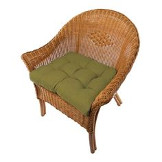 Rave Sage Green Patio Cushions - Save up to for Labor Day Weekend Outdoor Chair Cushions, Patio Chairs, Outdoor Fabric, Indoor Outdoor, Dining Chairs, Outdoor Dining, Dining Chair Pads, Wicker, Sweet Home