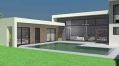 Atelier d'Architecture Scénario - Maison contemporaine d'architecte à toit terrasse