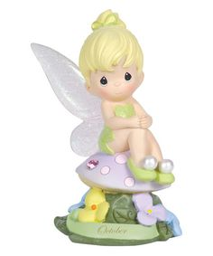 Another great find on #zulily! October Tinker Bell Figurine #zulilyfinds