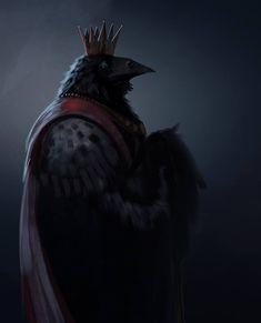 Spit Piant - King Raven by Hazzard65.deviantart.com on @deviantART