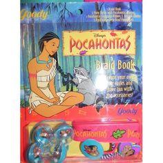 Pocahontas Braid Book - childhood Disney Pocahontas, 90s Toys, Native American Women, Memento Mori, Disney Animation, Snuggles, Childhood Memories, My Books, Pony