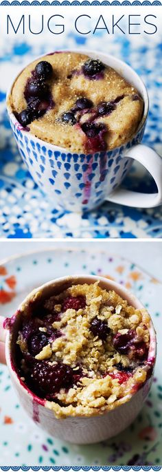 Mug cakes in the morning: You'll love these simple recipes for breakfast in a cup!