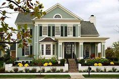 House exterior paint scheme
