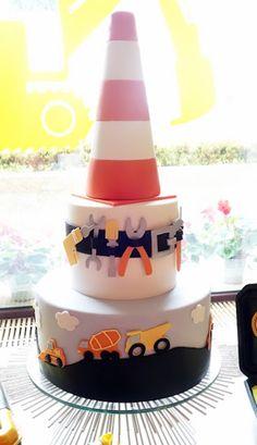 Cake from an Under Construction Birthday Party via Kara's Party Ideas KarasPartyIdeas.com (22)