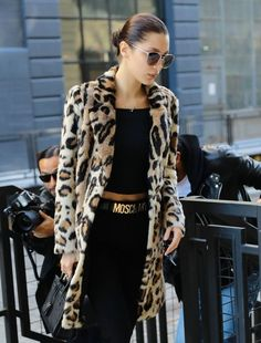 Bella Hadid Photos Photos - Model Bella Hadid is spotted out and about in New York City, New York on November 18, 2016. Bella recently called it quits with longtime boyfriend, The Weeknd. - Bella Hadid Out And About In NYC