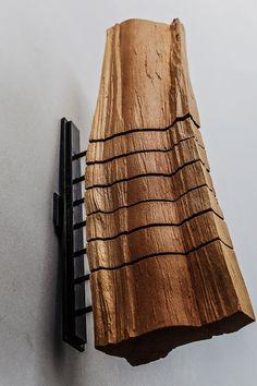 Wood Wall Sculpture Minimalist Art Modern Art Abstract Sculpture