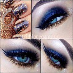 Eye Makeup & Nials