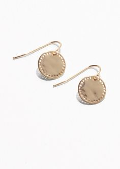 & Other Stories | Perforated Earrings