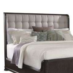 A.R.T. Home Furniture Optum Upholstered Bed Headboard - #ATGStores
